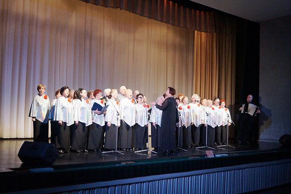 Народный коллектив хор «Ветеран»