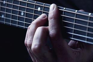 ギター弦の手