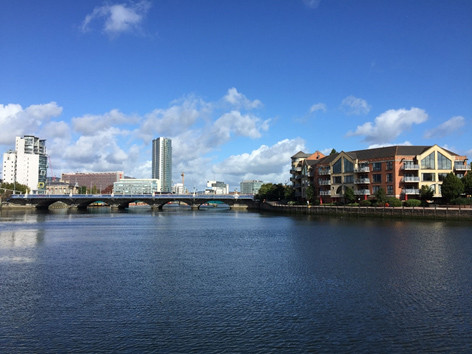 View from the ISER conference venue – Belfast Waterfront