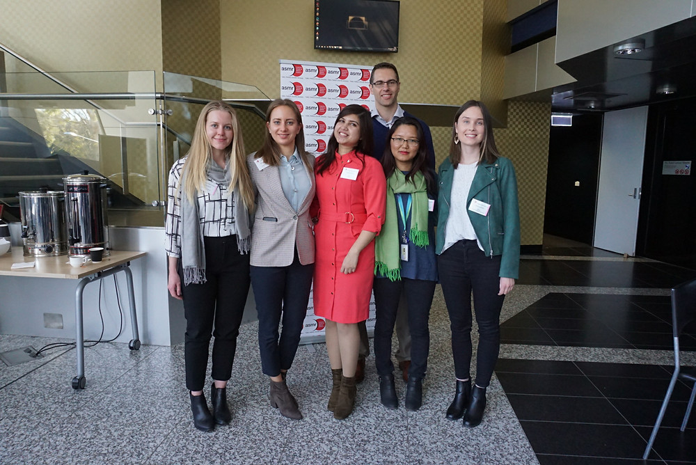 Organising committee for NIF 2019. Cath Dietrich on the far right.