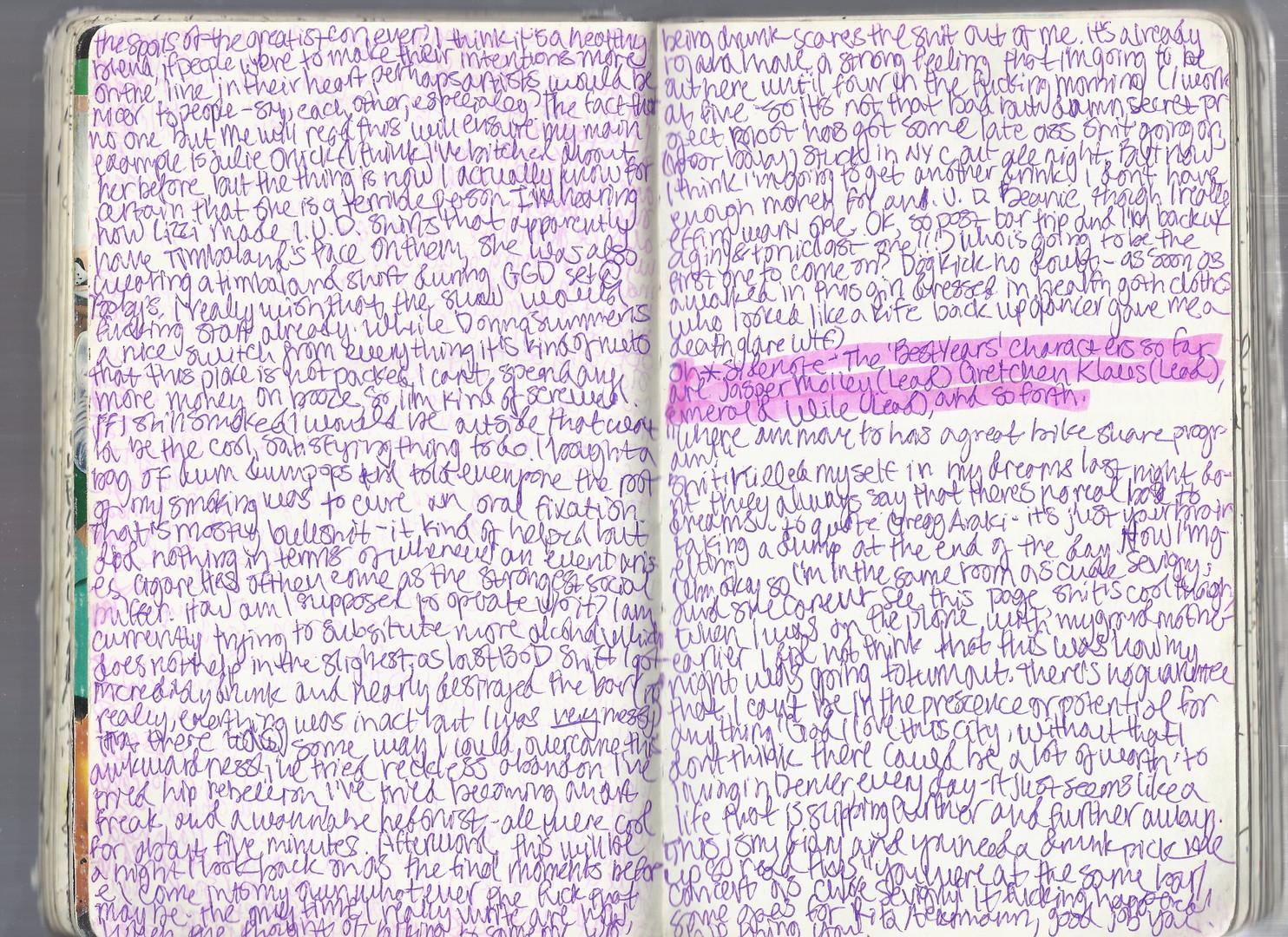 Diary No. 2 (2016-2020)