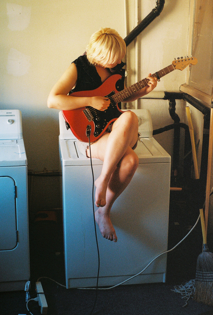 Kana on Washer (Sonic Youth), 2013