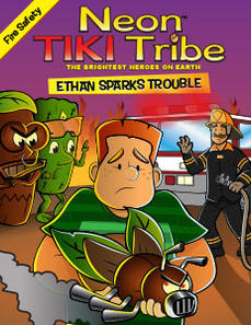 Neon Tiki Tribe: Ethan Sparks Trouble