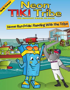 Neon Tiki Tribe: Home Run Pride - Reading with the Tribe