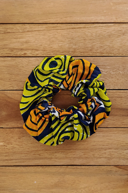 Chouchou tissu africain