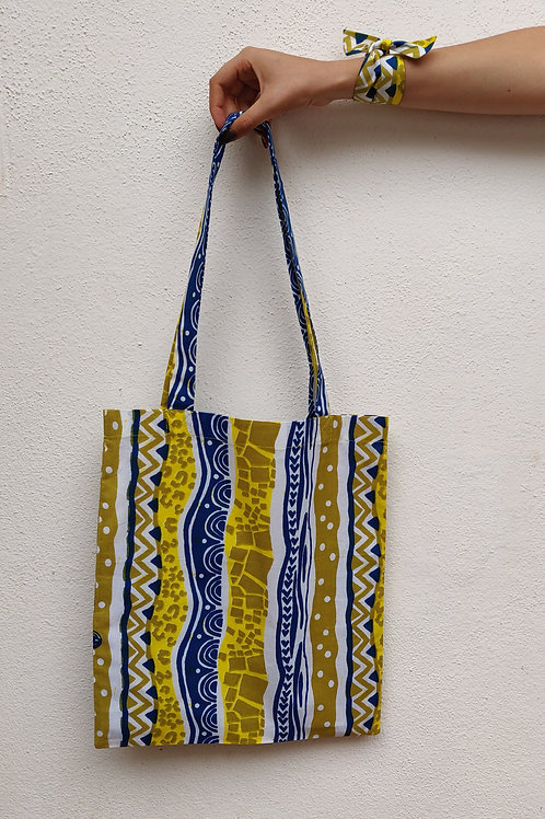 Tote bag sac en wax Africa Wax