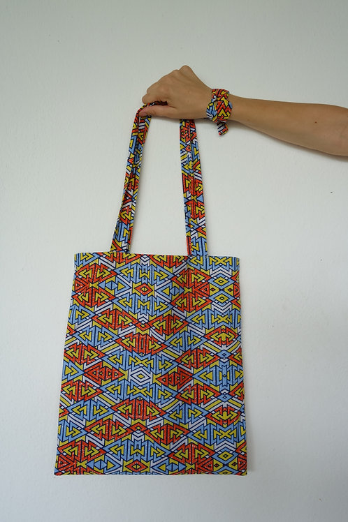 Tote bag Africa Wax