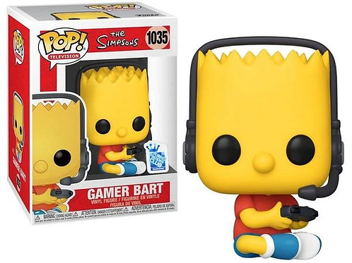 GAMER BART (LOS SIMPSONS)