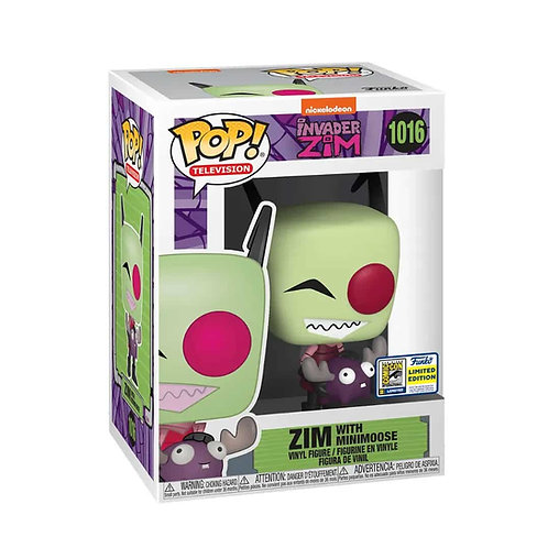 INVADER ZIM WITH MINIMOOSE (SDCC 2020)