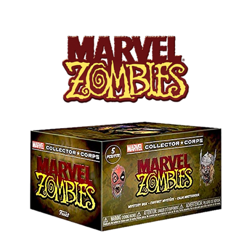 MARVEL COLLECTOR CORPS ZOMBIES