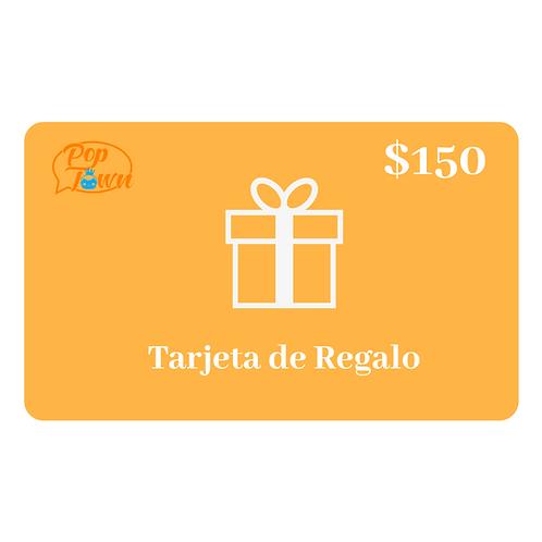 TARJETA DE REGALO $150