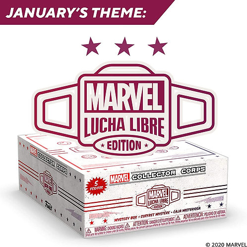 MARVEL COLLECTOR CORPS - LUCHA LIBRE