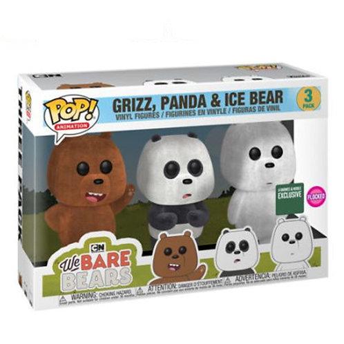GRIZZ, PANDA Y ICE BEAR (ESCANDALOSOS)