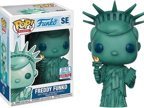 FREDDY FUNKO STATUE OF LIBERTY