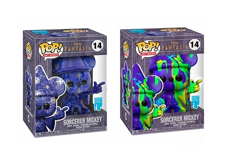 2 PACK MICKEY S
