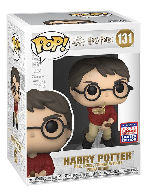 HARRY POTTER WITH FLYING KEY