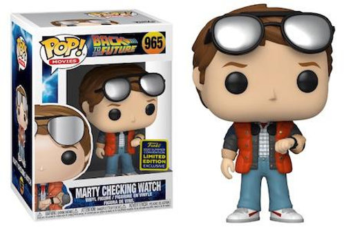 MARTY CHECKING WATCH (SDCC 2020)