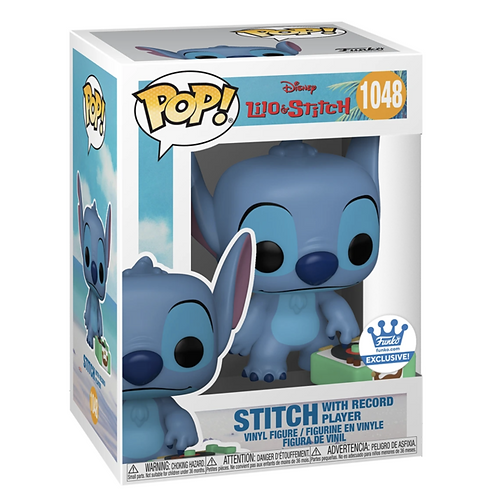 STITCH WITH RECORD PLAYER
