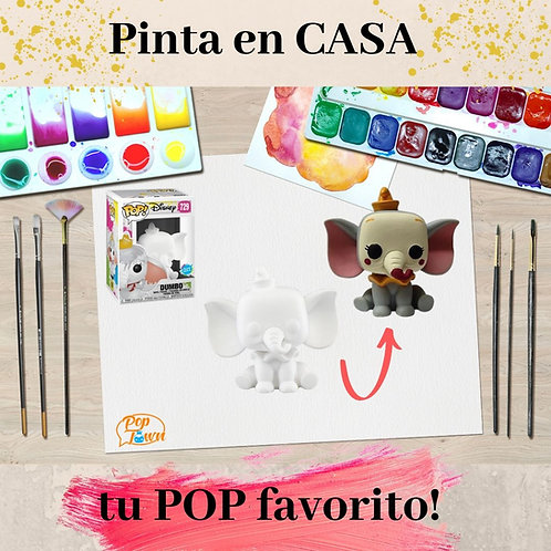 PAQUETE 1 FUNKO DIY EN CASA