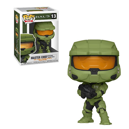 MASTER CHIEF (WITH MA40 ASSAULT RIFLE)