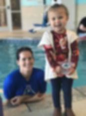 Trophy Proud Swimming Lessons 2 year old