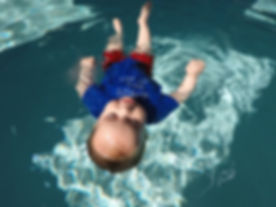 Floating Swimming Infant 6 months old