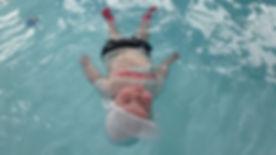 Floating Summer Time  7 month old