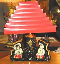 50's Asian Design Lamp