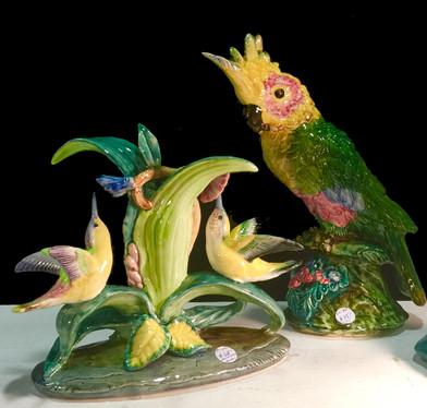 Porcelain Bird Figures