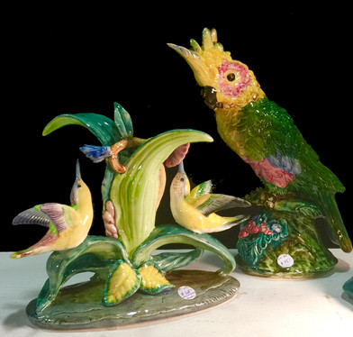 Porcelain Bird Figures