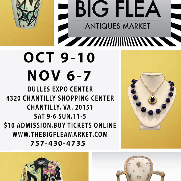 DC BIG FLEA OCTOBER 9-10