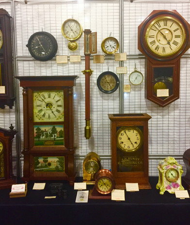 Assortment of Clocks