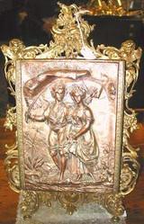 victorian table mirror