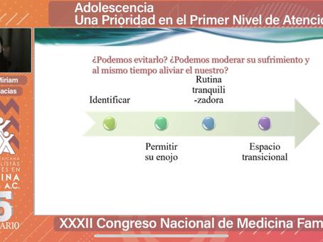 BIENVENIDA XXXII Congreso Nacional de Medicina Familiar. I Congreso en Línea