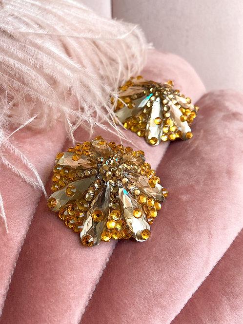 Gold Deco Daisy Pasties