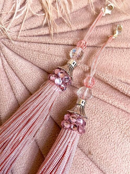 Dusty Pink Luxe Tassels