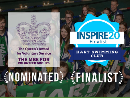 Nomination for Queen's Award & Inspire Business Award