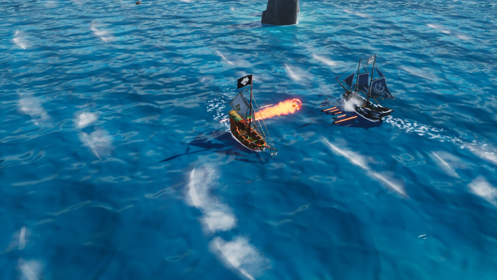 King of Seas PS4 Combat