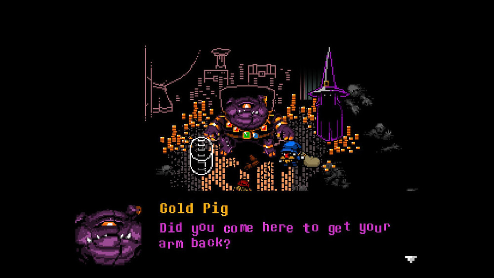 everhood nintendo switch gold pig boss