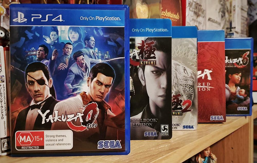 Yakuza Series PS4