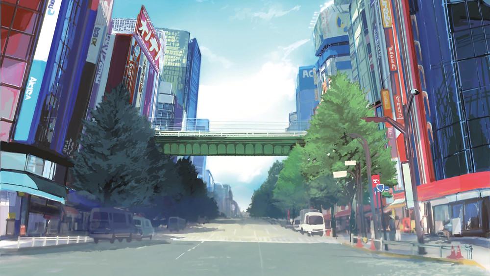 Akiba's Trip PS4 PS5 Review PSP RPG Visuals Chuo Dori