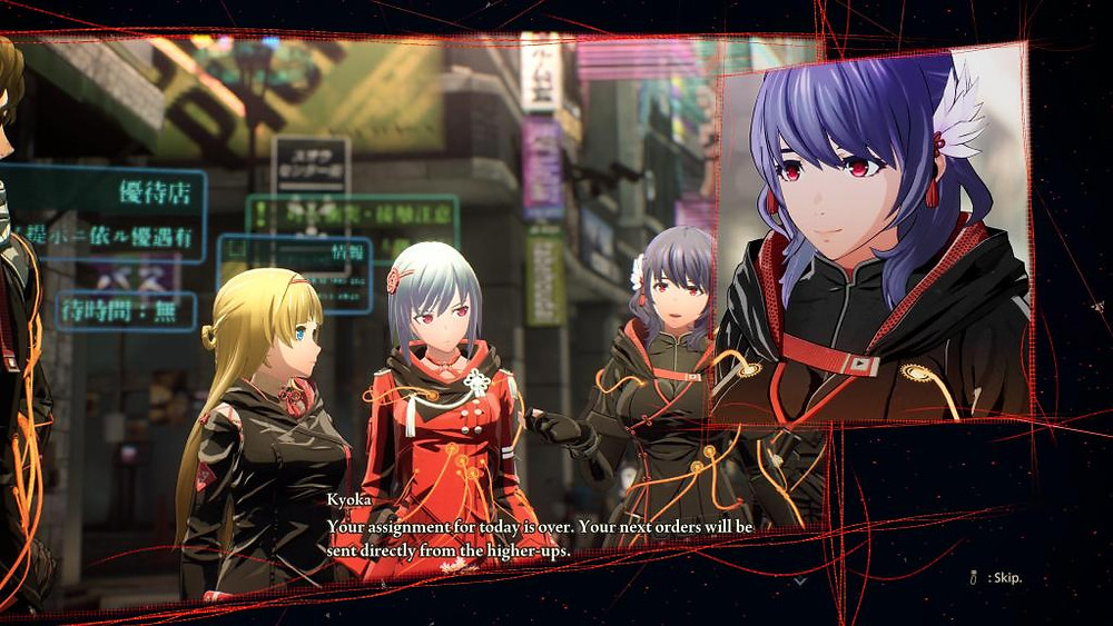 Scarlet Nexus Anime PS5 PlayStation 5 Visuals Combat Yuito Kasane