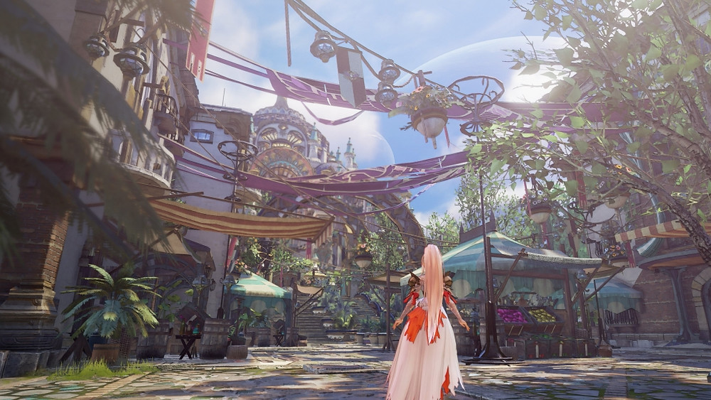 Tales of Arise Review PlayStation 5 Graphics Visuals Town Gorgeous