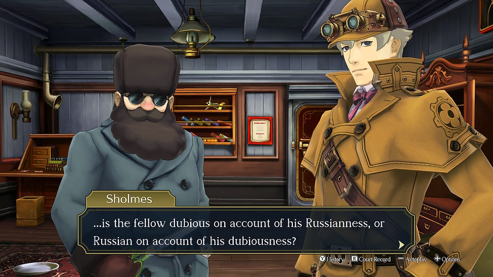 Great Ace Attorney Nintendo Switch Review Russian