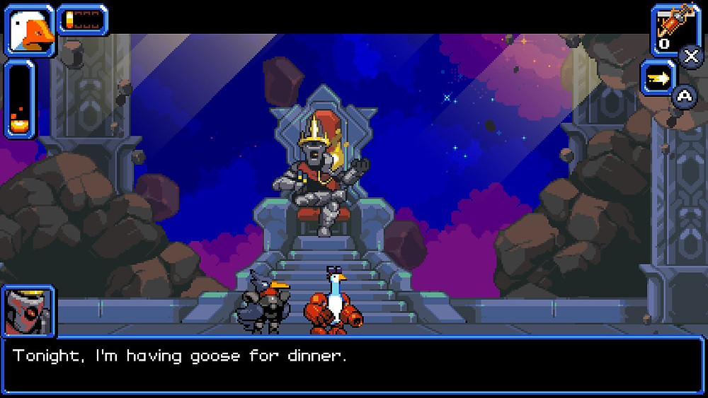 Mighty Goose Nintendo Switch Xbox One PC PS4 Void King