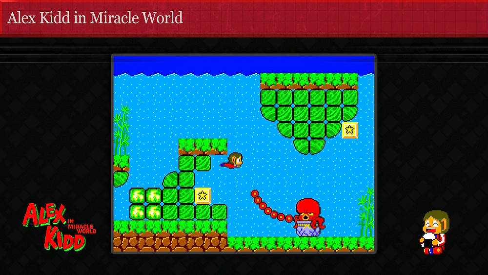 Alex Kidd in Miracle World DX Remake Nintendo Switch Review Visuals Pixel Art Classic Mode Retro