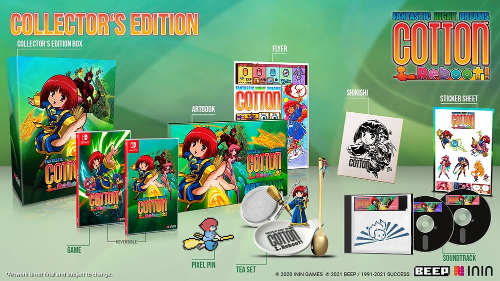 cotton remake ps4 nintendo switch reboot shoot em up collector's edition