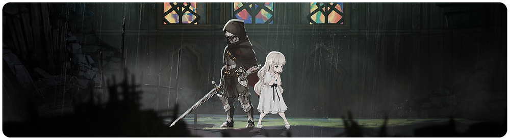 Ender Lilies PC Nintendo Switch PS4 Xbox Banner