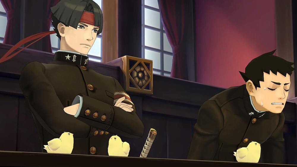 Great Ace Attorney Nintendo Switch Review Kazuma Asogi Ryunosuke Naruhodo