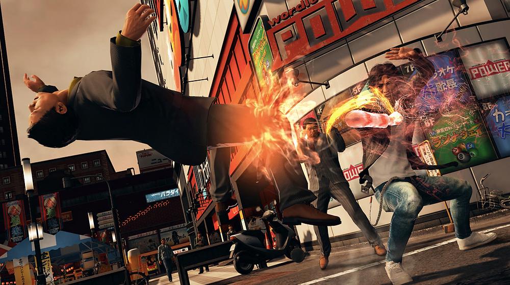 Judgement PS5 Combat EX Move
